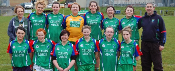 Clonmore Senior ladies win first points on home ground