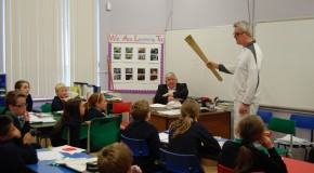 Olympic Torch Visit for Clintyclay