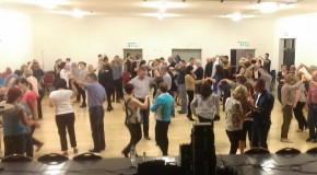 Dancing shoes on at Clonmore Hall
