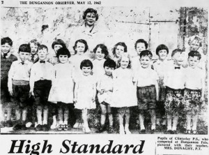 Clintyclay PS & Mrs Donaghy 1962