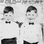 Philip & Gerard Cunningham 1962