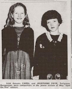 Carol & Josephine Foye 1967