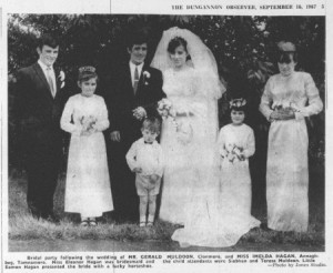 Gerard and Imelda Muldoon 1967