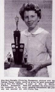 Mary Donaghy 1966