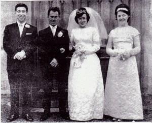 Sean and Margaret Farmer 1965