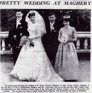 Liam and Teresa Daly 1963