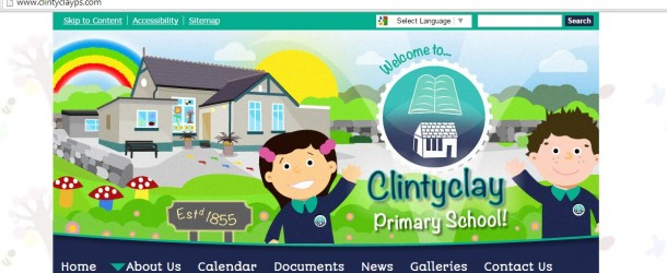 Clintyclay PS gets new website