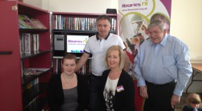 Library in a Box service launced in Clonmore