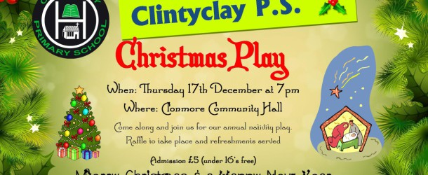 Clintyclay Christmas Play
